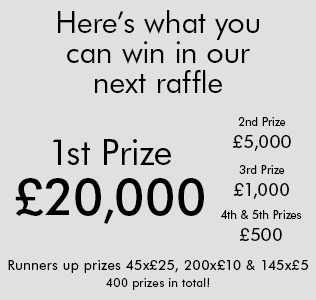 Royal British Legion Poppy Raffle